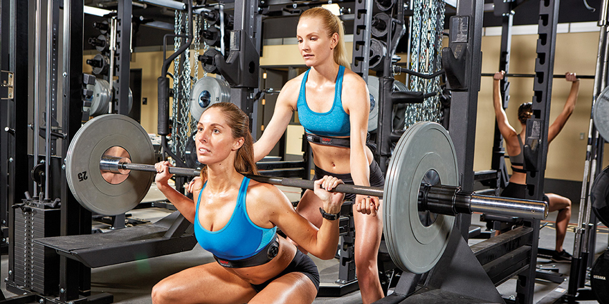 Zephyr weight training women