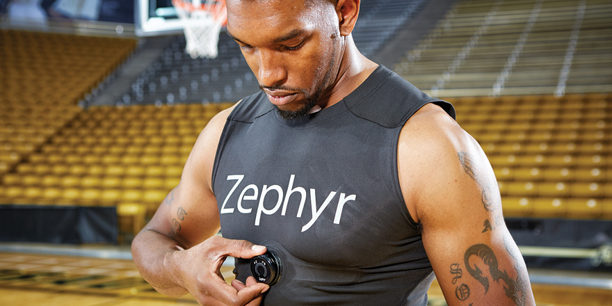 Zephyr basketball with compression shirtpuck